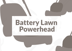 Battery Lawn Powerhead