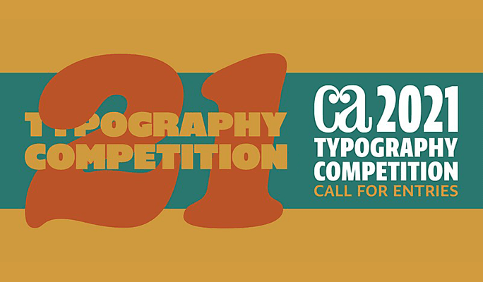 CA Communication Arts Typography Competition 2021