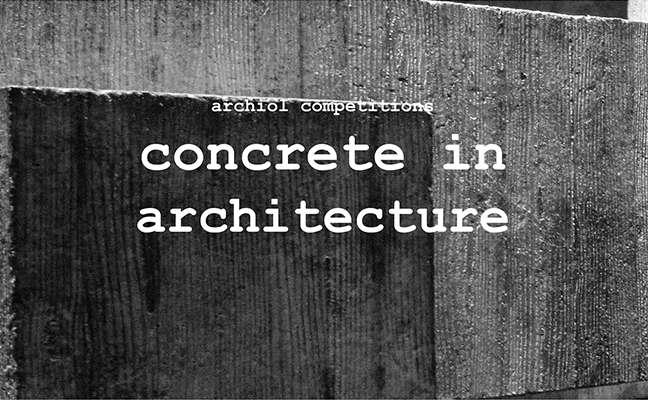 CONCRETE IN ARCHITECTURE by Archiol
