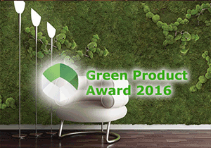 GREEN PRODUCT AWARD - Green Product Award 2016