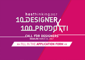 DESIGN AWARD - HOSThinking a Design Award 2017