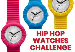 PRODUCT DESIGN COMPETITION - Hip Hop Watches Challenge