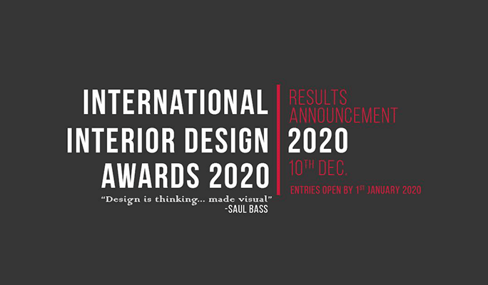 INTERIOR DESIGN AWARD - International Interior Design Awards 2020