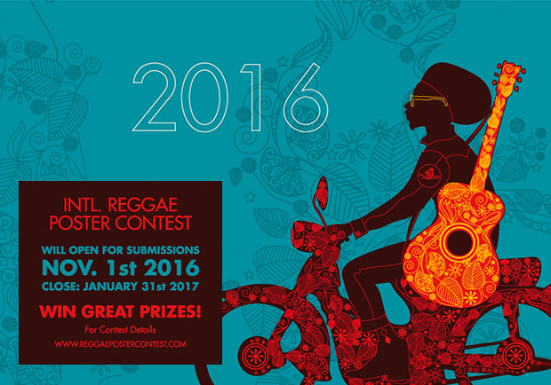POSTER CONTEST - International Reggae Poster Contest 2016