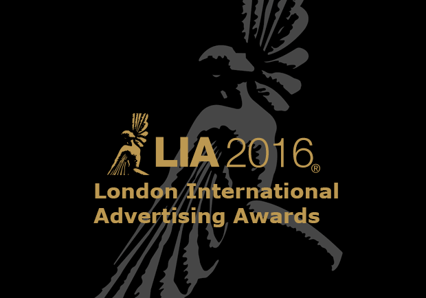 MEDIA AWARD - LIA 2016: London International Advertising Awards