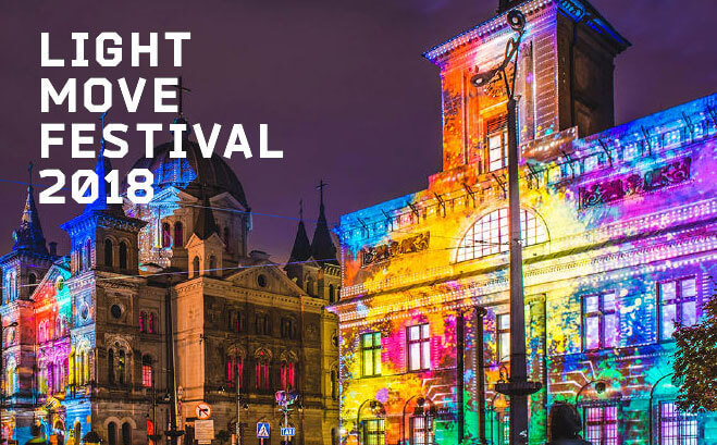 LIGHT FESTIVAL - Light Move Festival Lodz 2018