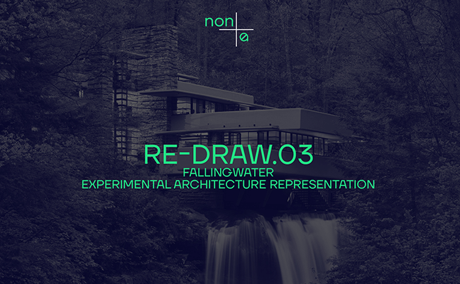 Non Architecture Competition: RE-DRAW.03 FALLINGWATER