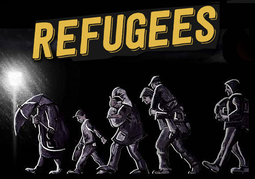 CARTOON CONTEST - REFUGEES KYM Cartoon 2016