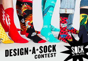 FASHION CONTEST - Sock It to Me 2017: Design-A-Sock Contest