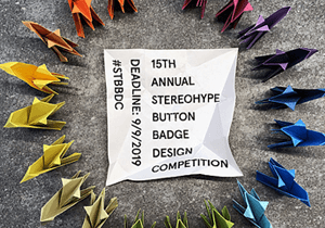 GRAPHIC DESIGN COMPETITION - 15th Stereohype Button Badge Design Competition 2019