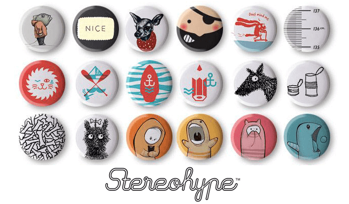 Stereohype Button Badge Design Competition 2020