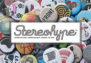GRAPHIC COMPETITION - 13th Stereohype Button Badge Design Competition 2017