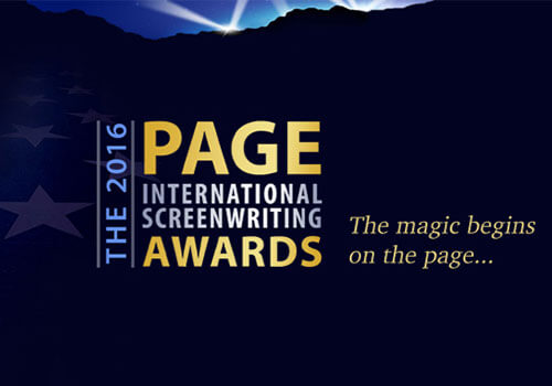 SCREENWRITING AWARD - The 2016 PAGE International Screenwriting Awards
