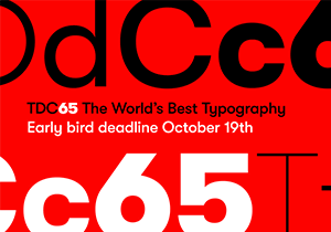 GRAPHIC DESIGN COMPETITION - Type Directors Club 2019