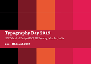 LOGO DESIGN COMPETITION - Typography Day 2019