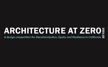 Architecture at Zero Design Competition 2021-22