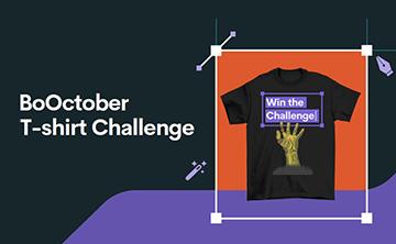 BoOctober T-shirt Challenge