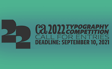 Communication Arts 2022 Typography Competition