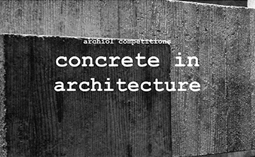 CONCRETE IN ARCHITECTURE by Archiol