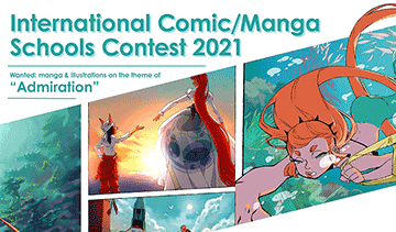 International Comic/Manga Schools Contest 2021
