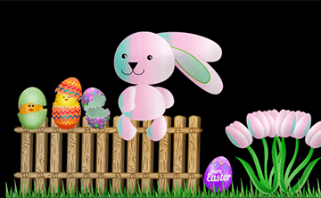 "Pixarra's ""Easter"" Digital Art Contest"
