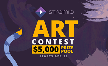 Stremio Fan Art Contest